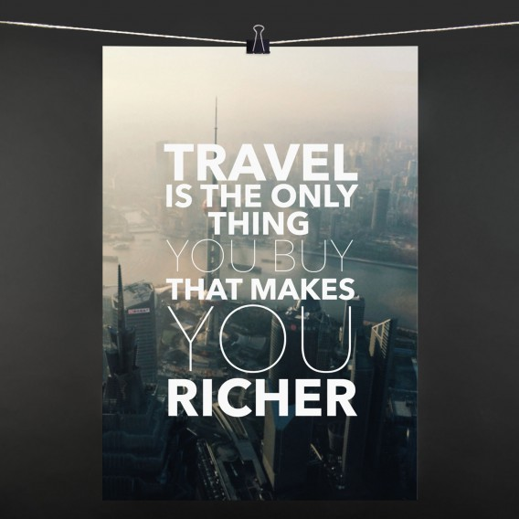 POSTER travel is