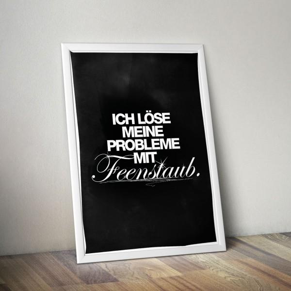 poster feenstaub poster prints official visual statements shop. Black Bedroom Furniture Sets. Home Design Ideas