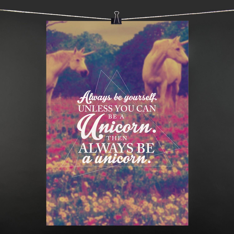 POSTER Unicorn ...