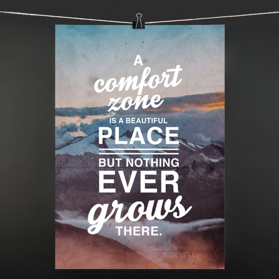 POSTER A comfort zone