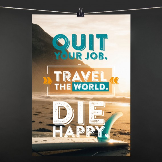 POSTER quit your job