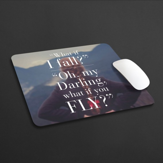 Mousepad What if I fall