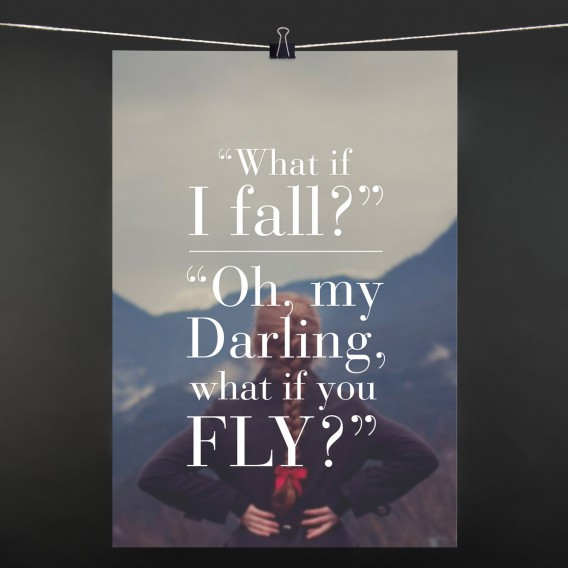 POSTER what if i fall?