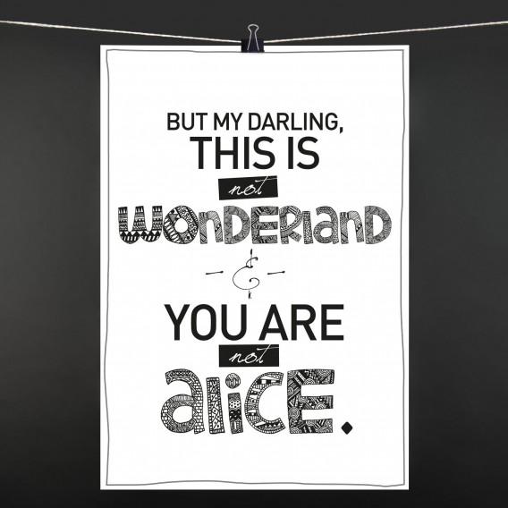 POSTER Alice im Wonderland