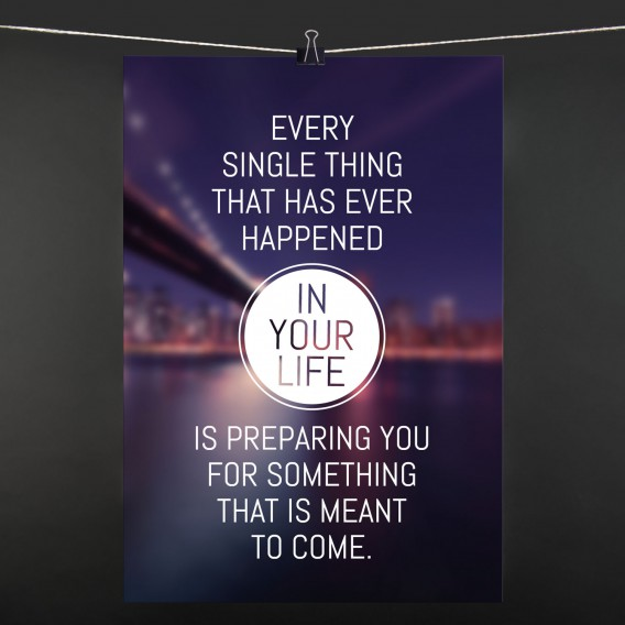 POSTER every single thing