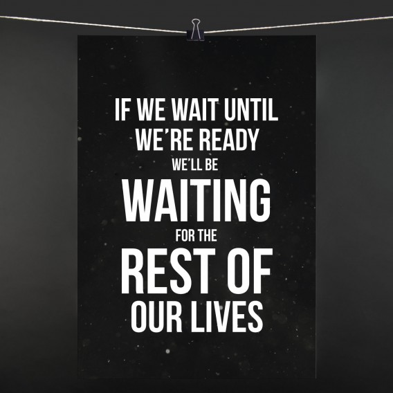 POSTER if we wait