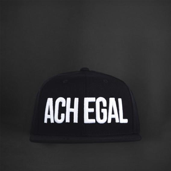 ACH EGAL Snapback 3D black