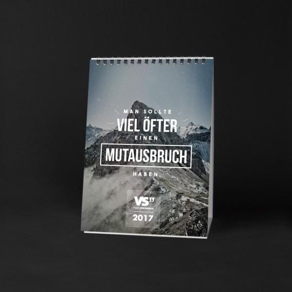 Monatskalender 2017 ABENTEUER, A5