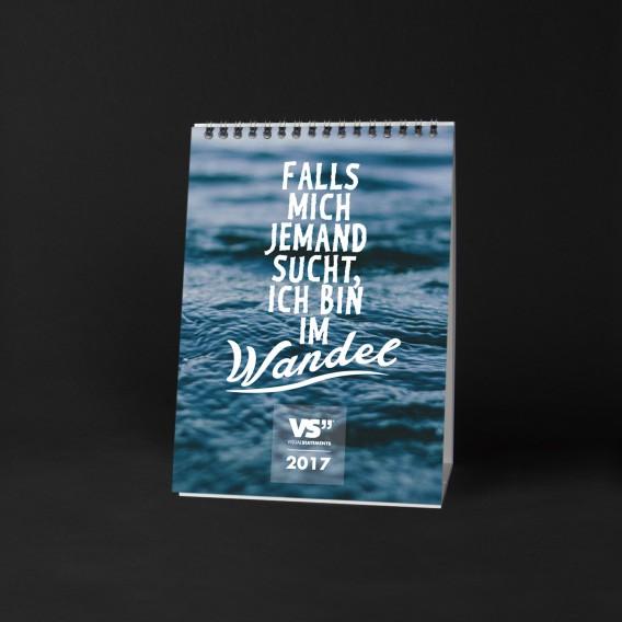 Monatskalender 2017 WANDEL, A5