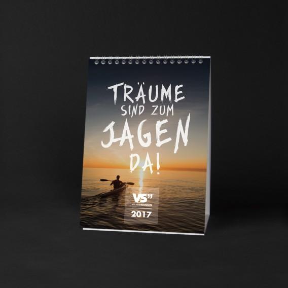 Monatskalender 2017 TRÄUME, A5