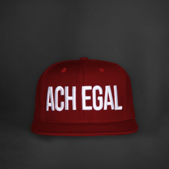 ACH EGAL Snapback 3D red
