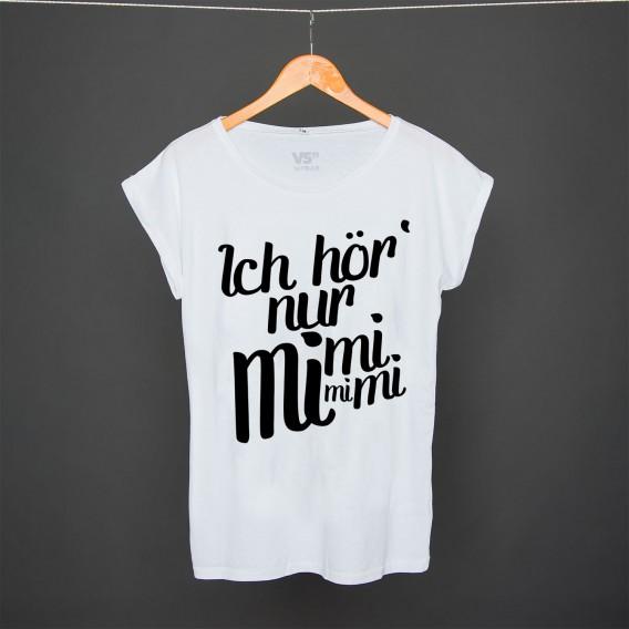 Shirt Ich hör nur mimimi WHITE WOMEN