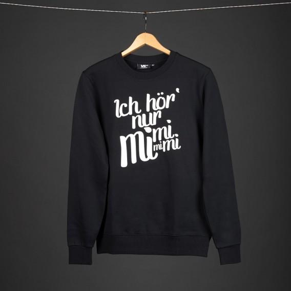 Sweater Ich hör nur mimimi unisex black