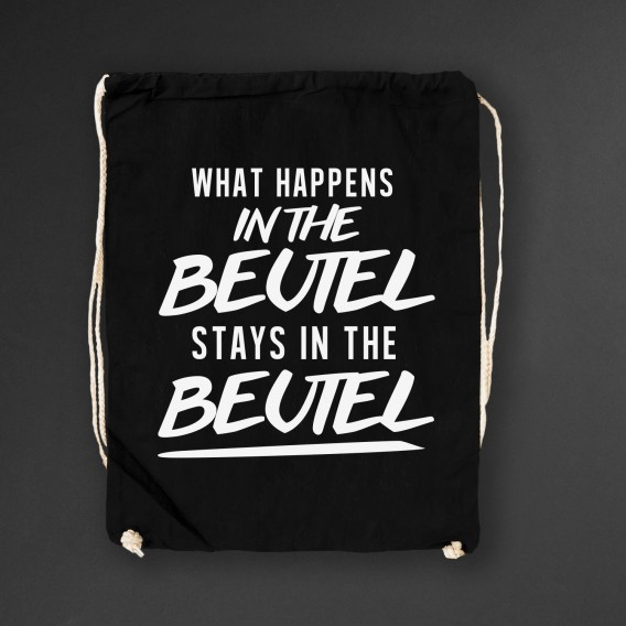 Turnbeutel What happens in the Beutel stays in the Beutel black
