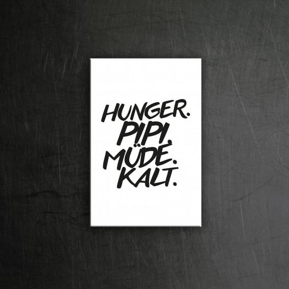 Hunger Pipi Magnet