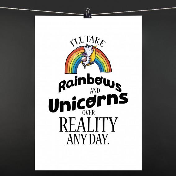 POSTER i'll take Rainbows
