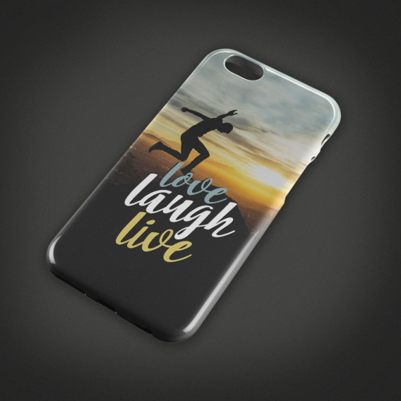 Handycover love laugh