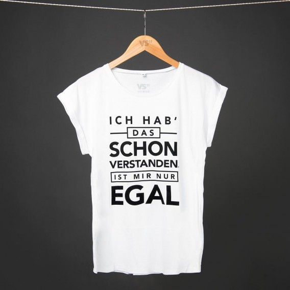 Shirt ICH HAB DAS SCHON VERSTANDEN IST MIR NUR EGAL WOMEN