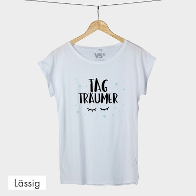 Lässiges T-Shirt - Tagträumer