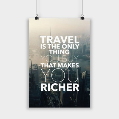 Travel is - Poster