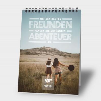 Lieblingsmensch / 2018 - Monatstischkalender