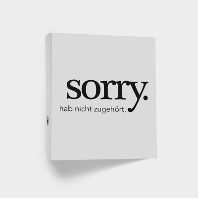 "Ordner VS"" - Sorry. hab nicht zugehört."