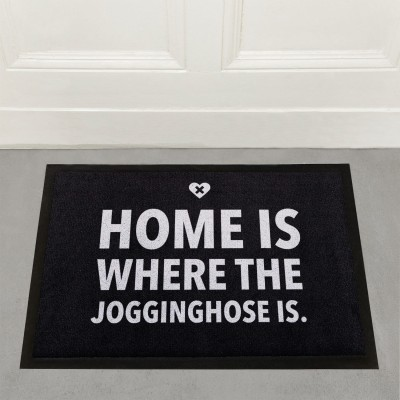 Fussmatte Wordporn 60x45cm - Home is where the Jogginghose is