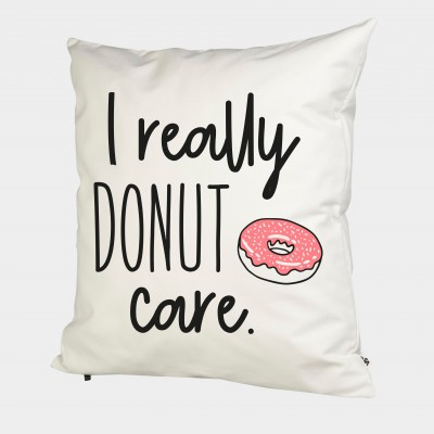 I really donut care - Kissenbezug