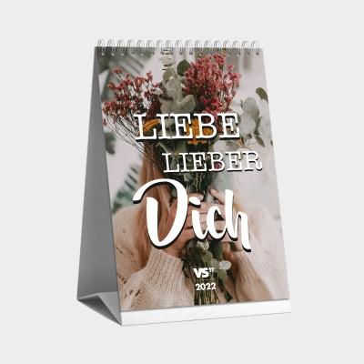 Selbstliebe Monatstischkalender 2022 - Tischkalender mit Sprüchen von Visual Statements