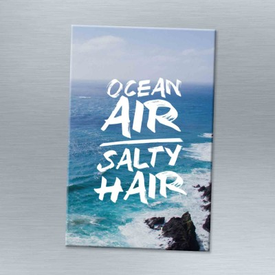 Ocean air salty hair - Magnet