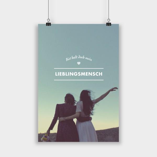 Lieblingsmensch - Poster