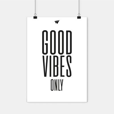"""Poster Lieblingskollegen - """"Good Vibes only"""""""