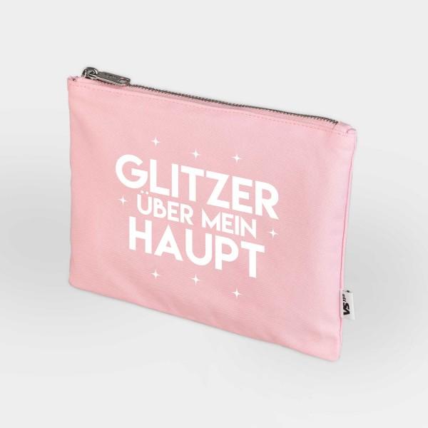 Glitzer über mein Haupt - Zip Bag