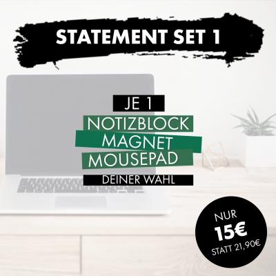 Statement Set 1