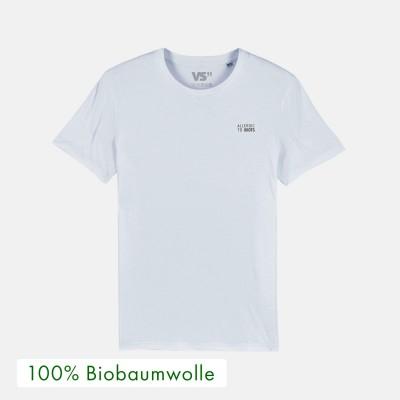 """Allergic to idiots - T-Shirt von VS"""" aus 100% Biobaumwolle"""