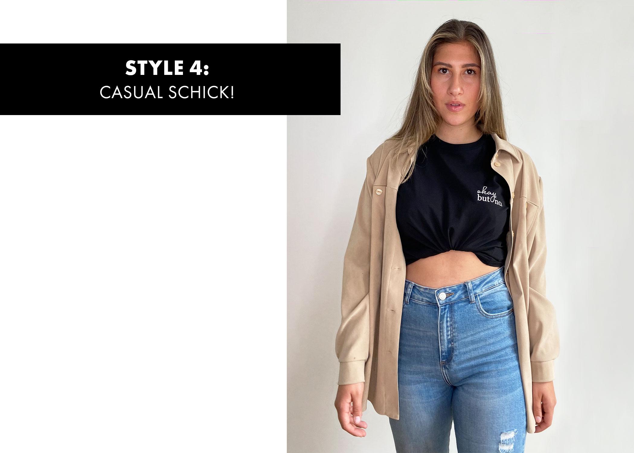 T-Shirt casual schick
