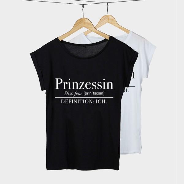 Prinzessin Definition - Shirt