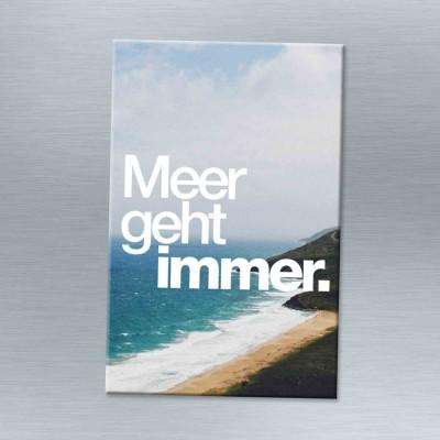 Meer geht immer - Magnet