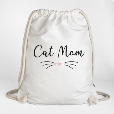 Ein Cat Mom Turnbeutel aus der VS'' Katzenkollektion