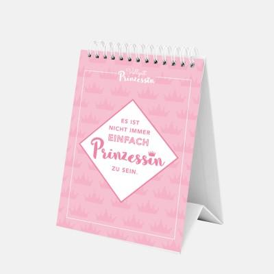 Spiralaufsteller rosa - Vollzeitprinzessin