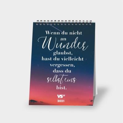 """VS"""" Monatstischkalender 2021 - Selbstliebe"""