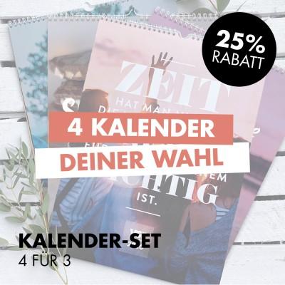 Kalender-Set: 4 für 3