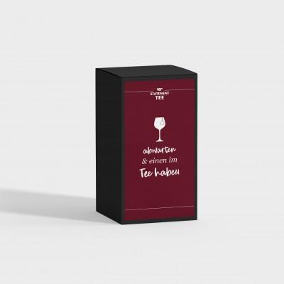 Abwarten und einen im Tee haben - Tee