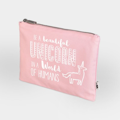 Be a beautiful unicorn - Zip Bag