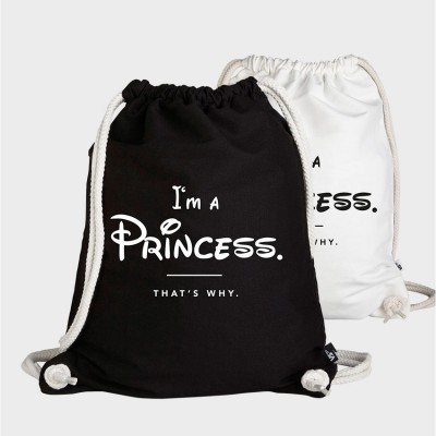 I'm a  Princess thats why - Turnbeutel