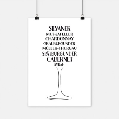 Silvaner, Muskateller,... - Weinsorten