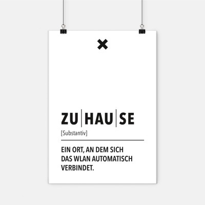 Poster Wordporn - Definition Zuhause