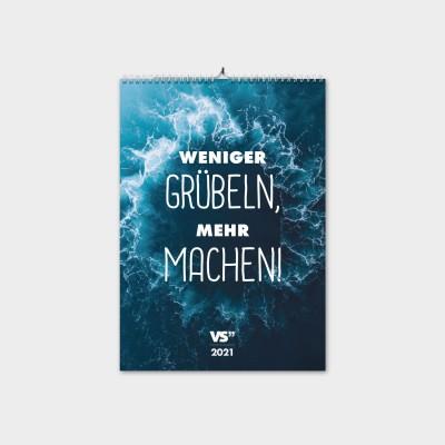 """VS"""" Wochenwandkalender A4 - Glück"""