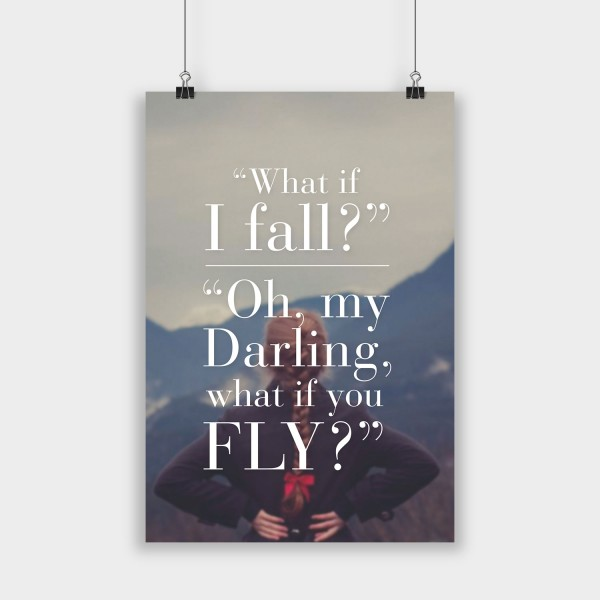 What if I fall? - Poster
