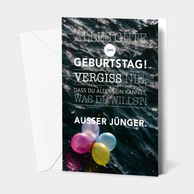 """Alles Gute zum Geburtstag - Grußkarte von VS"""""""